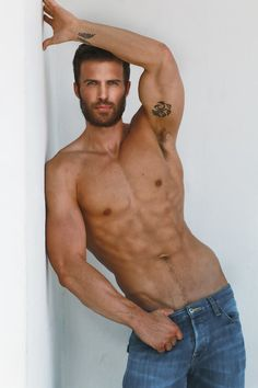 nothing but hot men Hot Men, Sexy Men, Hot Guys, Sexy Guys, Andre Hamann, Moustaches, Shirtless Men, Male Form, Fitness Man