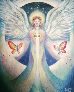 Haziel angel of unconditional love and  friendship