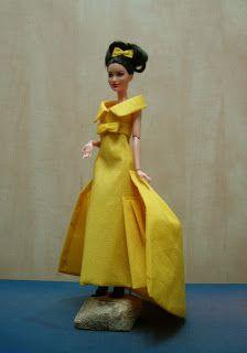 EXPOSICION DE VESTIDOS DE PAPEL Barbie, Vintage, Style, Fashion, Paper Dresses, Zaragoza, Exhibitions, Paper Envelopes, Sewing