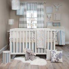 Luna 4 Piece Crib Bedding Set with Bumper by Glenna Jean Baby Crib Sets, Baby Crib Bedding, Crib Sheets, Nursery Neutral, Tan Nursery, Baby Design, Baby Sleep, Cribs, White Velvet