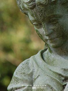 Beautiful garden statue--forest hills cemetery, photo credit: david fuller