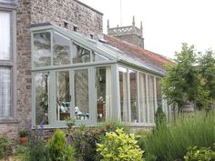 Exterior from high lean to winter garden, Exterior from high lean to conservatory You are free to share… Curved Pergola, Pergola Kits, Pergola Lighting, Pergola Ideas, Greenhouse Attached To House, Edwardian Haus, What Is A Conservatory, Orangery Extension, Gardens
