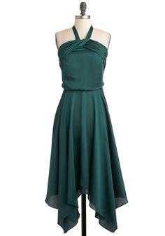 too green/dark? or close to darkest swatch?  Spruce or Dare Dress, #ModCloth