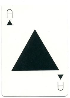 Tauba Auerbach playing card