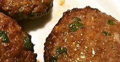 Ingredientes:  - 1/2Kg de carne moída de preferência Alcatra, Meia cebola picada, 1 dente de alho amassado, Mostarda, Ervas Finas, Sa...