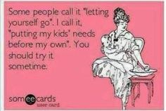 Letting Yourself Go? Moms... What do YOU think?