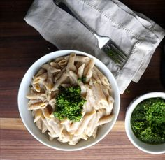 It has been soooooo long since I've had a nice creamy pasta alfredo. You know, the traditional kind made with Parmigiano-Reggiano cheese and butter and maybe a little milk or cream. I salivate at t...