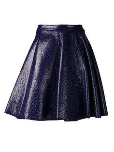 Women - Msgm Textured Skirt