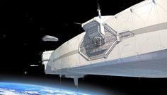 FUSE Space Station Docking Port by ~MeckanicalMind on deviantART