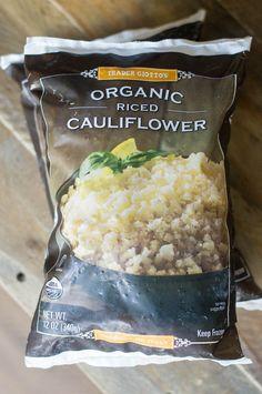Fried Cauliflower Rice with Trader Joe's Riced Cauliflower