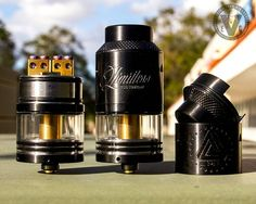 Sexy right? Allow me to introduce you to the Limitless RDTA Gold by Limitless Mod Co. This new arrival at EVCigarettes can be yours for just under $35, but you'll want to act fast because we got them by customer request!  This beast is easy on the eyes, but it also shines in performance with its Gold-plated deck & positive pin, 4.75mL Juice capacity, and upcoming interchangeable deck options.  Head over to the EVCigarettes website and lock down your Limitless RDTA Gold today!  #EVCigarettes…