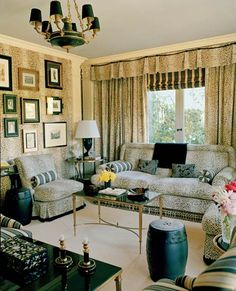 Beau Fun Use Of Leopard Print In The Library Of Her West Hollywood House   Designer  Mary
