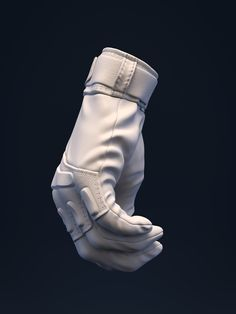 ArtStation - Girl in exo - Leather Gloves, Brice Laville Saint-Martin