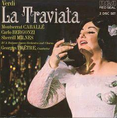 La Traviata [CD] : Òpera en tres actes composta per Giuseppe Verdi amb llibret en italià de Francesco Maria Piave i estrenada al teatre La Fenice di Venecia l'any 1848.