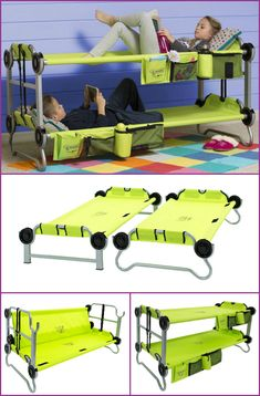 10 Camping Tips and Gadgets You'll Love This Summer-PORTABLE BUNK COTS.