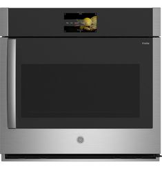 GE Profile™ 30 Smart Built-In Convection Single Wall Oven with Right-Hand Side-Swing Doors Single Wall Oven, Electric Wall Oven, Clock Display, Smart Home Technology, Ral Colours, Oven Racks, Cool Kitchens, Cool Things To Buy, Profile