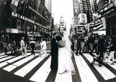 such a fun wedding shot!