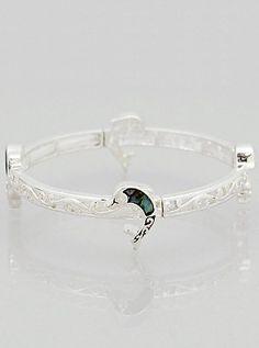 Abalone Dolphin Bracelet