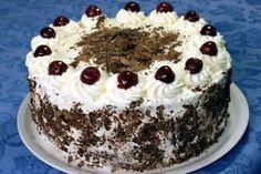 Schwarzwälder Kirschtorte (The original Black Forest cake, as it is made in the Black Forest region) Cheesecake Recipes, Dessert Recipes, Desserts, German Cake, Black Forest Cake, Decadent Cakes, Cake & Co, Chocolate Ice Cream, Four