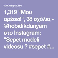 """1,319 """"Μου αρέσει!"""", 38 σχόλια - @hobidikdunyam στο Instagram: """"Sepet modeli videosu 📹 #sepet #örgü #hobi #örgüsepet #örgüpaspas #örgüpuf #orgupuset #örgümodelleri…"""""""