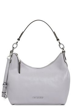 MICHAEL MICHAEL KORS 'Medium Isabella' Convertible Leather Shoulder Bag. #michaelmichaelkors #bags #shoulder bags #leather #lining