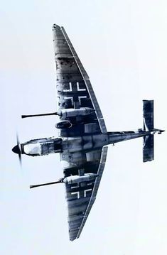 Imagine what it must have been like to see the Stuka G coming at you.
