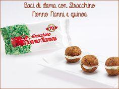 My Note Style: Baci di dama con stracchino e quinoa