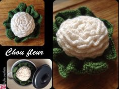 Crochet : chou-fleur