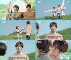 ji won express his feeling to ha won and kissed her - Cinderella and Four Knights - Episode 12