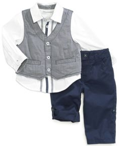 #First Impressions        #kids                     #First #Impressions #Baby #Boys' #3-Piece #Vest, #Shirt #Pants                First Impressions Baby Boys' 3-Piece Vest, Shirt & Pants Set                                            http://www.snaproduct.com/product.aspx?PID=5507309