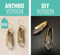 Anthro Earrings: $128. Add some sparkle to your ears.
