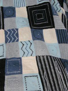 Debbie Abrahams knitted blanket