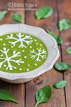 Retete culinare - SUPE/CIORBE - Edith's Kitchen Romanian Food, Romanian Recipes, Caramel, Diet Recipes, Supe, Vegetarian, Herbs, Vegan, Edith's Kitchen