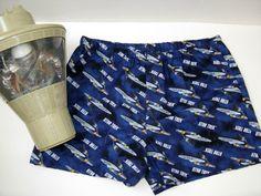 Star Trek Boxer Shorts.  Star Trek Enterprise. by SewnWithPassion