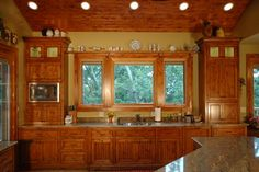 Garvin Lake Home - farmhouse - Kitchen - Milwaukee - JFK Design-Build,llc