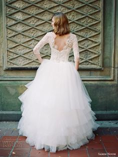 10 Gorgeous Lace Back Wedding Dresses | Rustic Folk Weddings