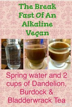 One of the most important aspects to health is proper pH balance, and there is not better diet to balance pH than the alkaline diet. Alkaline Tea, Alkaline Breakfast, Alkaline Diet Plan, Alkaline Diet Recipes, Diet Breakfast, Real Food Recipes, Healthy Recipes, Healthy Foods, Yummy Food