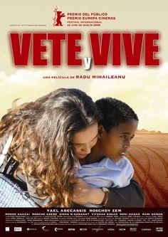 Vete y vive (2005) Francia/ Israel. Dir: Radu Mihaileanu. Drama. Migración. Familia Relixión. Anos 80 - DVD CINE 1383