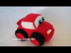 CANAL CROCHET: Mini car amigurumi patrón libre                                                                                                                                                                                 Más