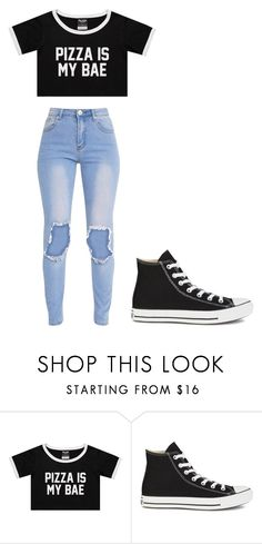 """""""Untitled #265"""" by cruciangyul on Polyvore featuring Converse"""