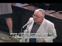 """Revolta da dep. Cidinha Campos com """"os que mamam"""", principalmente dep. J..."""