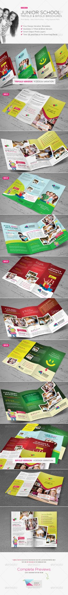 Pediatrician \ Child Care - Brochure Template Graphic design - sample business brochure