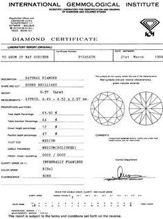 Foto 9, Diamant, IGI!, 0,37ct Brillant Lupenrein River-D Juwel!, D5644