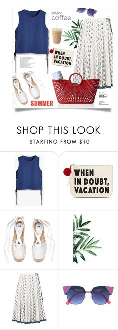 """Coffee and Pleats"" by youaresofashion ❤ liked on Polyvore featuring Twig & Arrow, Monsoon, Mark & Graham, pleats and coffeebreak"