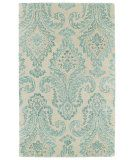 RugStudio presents Kaleen Divine Div06-78 Turquoise Hand-Tufted, Good Quality Area Rug $499