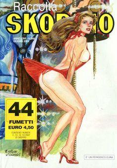 Fumetti EDITORIALE AUREA, Collana SKORPIO RACCOLTA n°349 JUILLET 2003