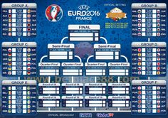 Wallpaper Jadwal Euro 2016