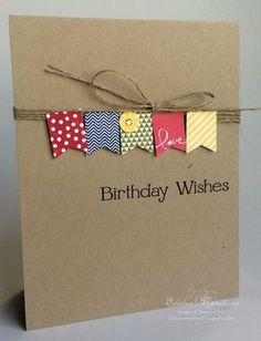 Stampin' Up! Sale-a-Bration Banner Blast - Shelli's card Elaine's Creations