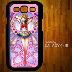 B1196 Beautiful Pink Sailor Moon Samsung Galaxy S3 case | statusisasi - Accessories on ArtFire