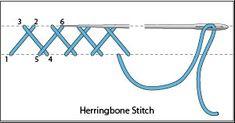 DMC Embroidery Stitch Guide